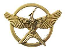 The Hunger Games Mockingjay Pin Brooch Movie Bird Replica Badge Bronze Gift UK