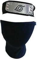 Naruto Headband Leaf Village Kakashi Mask for Cosplay US