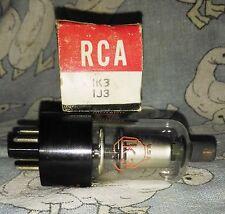 NOS RCA 1K3 (1J3) vacuum tube radio TV valve, TESTED