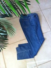 L.L.BEAN Jeans Women's Size 8 Relaxed Fit  Denim Straight Leg