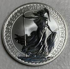 2004 Great Britain 2 Pound Britannia 1oz Silver Uncirculated lot 3909