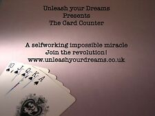 Mentalism Card Counter Magic trick with coins coldreading guide CD