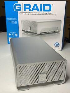 G-Technology G-RAID 6TB FW800 RAID1 eSATA Hard disk drive Karaoke Files Storage
