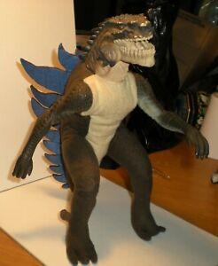 Vintage Godzilla Movie Poseable Vinyl Head Plush Body Toho 1998 Equity Toys