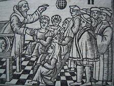 POST-INCUNABLE 1536 SPECCHIO DELLA FEDE CARACCIOLO CHRIST MARY WOODCUTS! VENEZIA