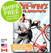 Pee-Wee's Big Adventure (DVD, 2008) NEW, PeeWee, Pee-Wee Herman, Tim Burton