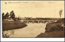 Vallée de la Semois ~1910/20 LACUISINE Belgien Le Pont Partie a.d. Fluss Brücke
