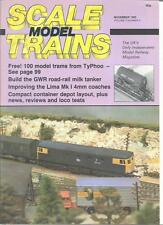 Scale Model Trains November 1985 DH