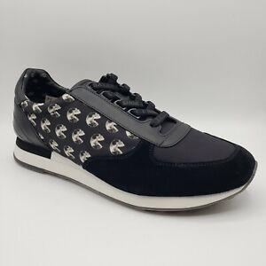Bally GAVINO-CONSUMERS Men's SHOK-1 Black Nylon/Leather/Suede Lace up Sneaker