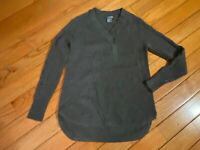 Griffen NWT women's 100% cashmere sweater grey size XS