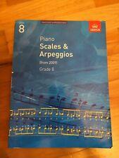 Scales & Arpeggios For Piano Grade 8 Book