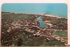 Michigan MI South Haven Lake Michigan Postcard Old Vintage Card View Standard PC