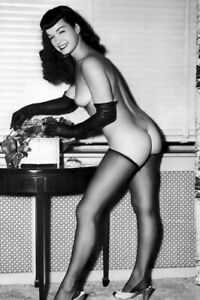BETTIE PAGE (2) 4x6 Glossy Photos
