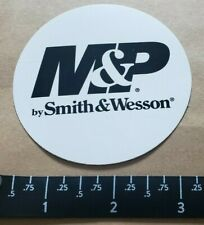 OEM Original M&P Smith & Wesson Black and White Vinyl Decal Sticker