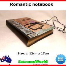 Romantic notebook cahier journal scrap book vintage rope bind travel hot new
