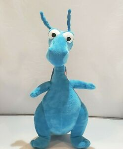 "Disney Junior Talking STUFFY the BLUE DRAGON Plush Doc McStuffins 16""H Just Play"