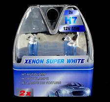 H7 Birnen Xenon Optik Halogenlampen Super Weiss 12 Volt 55 Watt