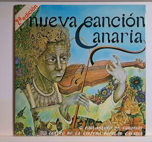NUEVA CANCION CANARIA - VARIOS  - CENTRO CULTURA POP. CANARIA - ED. ESPAÑA 1985