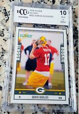 AARON RODGERS 2005 Score GLOSSY Rookie Card RC BGS BCCG 10 Packers Superbowl MVP