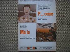 FABIO CONCATO P...COME DIMOPOLI MA IO 1978 SPARTITO SHEET MUSIC