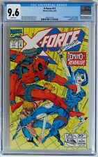 """X-Force #11 (Marvel 1992) CGC 9.6 NM+ 1st full appearance """"real"""" Domino"""