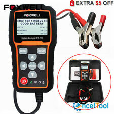 FOXWELL BT705 12V&24V 100-2000 CCA Car Battery Load Tester Cranking Charging US