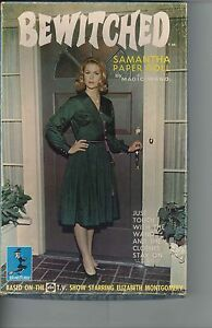 VINTAGE UNCUT 1965 BEWITCHED SAMANTHA PAPER DOLL ORG SZ HD~LASER REPRODUCTION~