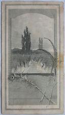 Antique 1880 Best Gas Machine Victorian Trade Card Water Heater Advertisment