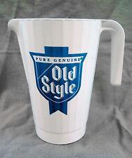 Vintage 1980's Old Style Beer 1.5 Liter Pitcher