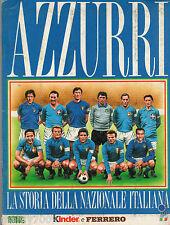 ALBUM FIGURINE=AZZURRI=LA STORIA DELLA NAZIONALE=COMPLETO=GS 1994