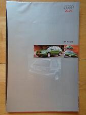 AUDI A4 Avant Estate 1995/96 BROCHURE per MERCATO del Regno Unito