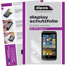 1x dipos ZTE Open C Film de protection d'écran protecteur cristal clair