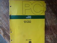 John Deere 50 Toolbar Parts Catalog Manual Book Original Pc-1622