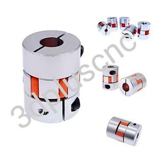 Klauenkupplung  Aluminium/Elastomer  Wellenkupplung 3D Drucker CNC Laser
