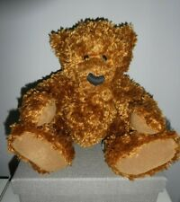 """GORGEOUS TRADITIONAL 13"""" SOFT BROWN BEAR RUSS BERRIE & CO 'ICKY'"""