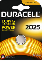 1 BATTERIA CR2025 / DL2025 DURACELL 3V LITIO DLC 2025