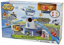 Torre di controllo Super wings con luci e suoni realistici Jett e Donnie inclusi