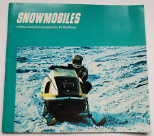Snowmobiles - Written and Photgraphed By Ed Radlauer - Bowmar Publishing - 1972