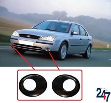 NEW FORD MONDEO 2001 - 2004 FRONT FOG LIGHT SURROUND COVER FRAME SET RIGHT LEFT