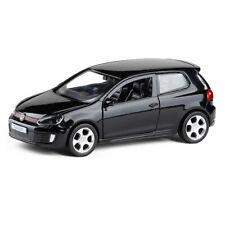 Golf GTI 1:36 Metall Die Cast Modellauto Schwarz Spielzeug Pull Back Sammlung