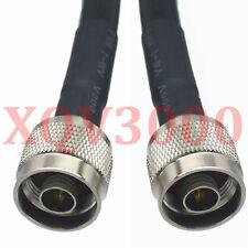 KSR400/RG8 3FT RF pigtail N plug pin to N male Cable jumper (as same as LMR400)