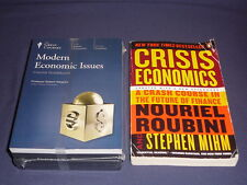 Teaching Co Great Courses CDs       MODERN ECONOMIC ISSUES      new  + BONUS