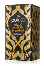 4 x 20 Tea bags PUKKA Elegant English Breakfast ( 80 bags in total )