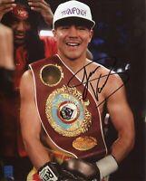 Jessie Vargas WBA IBO Rare Boxing Champ Signed Autograph Photo COA