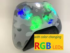 Limited Edition Artic Camo Xbox One Controller w LED MOD PC iPhone Android