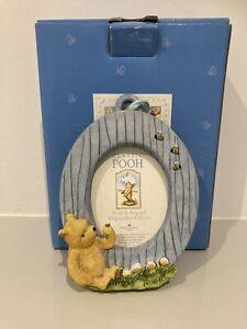 Classic Pooh Border Fine Arts Winnie The Pooh Mini Photo Frame - Boxed A1754