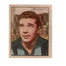 [LC13] FIGURINA CAMPIONI DELLO SPORT ANNI '50 N°3 SAMPDORIA BASSETTO