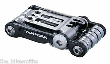 Topeak Mini 20 PRO BLACK Multi Function Bike Tool & Bag w/ Chain Breaker TT2536B