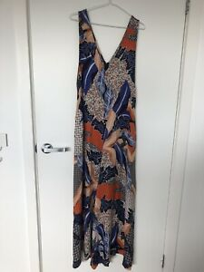 Jaase Jumpsuit Overalls One Piece Flared Size M