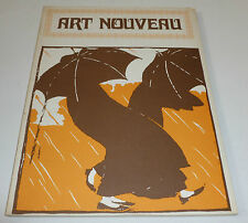 Art Nouveau - Posters and design      Andrew Melvin    PAPERBACK ART BOOK